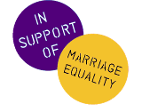 Logo:  In Support of Marriage Equality